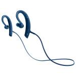 Casti sport in-ear cu microfon Bluetooth SONY MDR-XB80BSL, EXTRA BASS™, Wireless, NFC, rezistenta la stropire, albastru