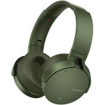 Casti on-ear Bluetooth SONY MDR-XB950N1G, Noise Cancelling, Extra BASS, NFC, Wireless, Verde