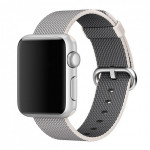 Bratara pentru APPLE Watch Seria 1, 38 mm, nylon, white