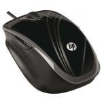 Mouse optic HP BR376AA, cu fir, USB, 1200dpi, negru