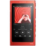 MP4 player SONY Walkman NWA35R Hi Res, 16GB, Ecran tactil, Bluetooth, NFC, Wireless, FLAC, Rosu