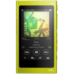 MP4 player SONY Walkman NWA35Y Hi Res, 16GB, Ecran tactil, Bluetooth, NFC, Wireless, FLAC, Galben