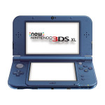 Consola Nintendo New 3DS XL, 4.88 / 4.18 inch, albastru metalic