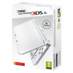 Consola Nintendo New 3DS XL, 4.88 / 4.18 inch, alb perla