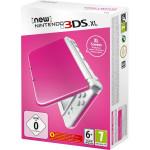 Consola Nintendo New 3DS XL, 4.88 / 4.18 inch, roz alb