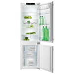 Combina frigorifica incorporabila GORENJE NRKI4181CW, 262 l, A+, alb