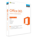 Microsoft Office 365 Home, 32/64 bit, Engleza EuroZone, Subscriptie 1 an, 5 PC/Mac, 5 Tablete, 5 Telefoane