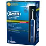 Periuta de dinti cu acumulator ORAL-B D20, 8800 osc/min, 3 capete, functie de albire, alb - albastru