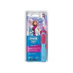 Periuta de dinti pentru copii ORAL-B D12 Frozen, 7600 osc./min, acumulator, albastru - roz