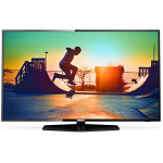 Televizor LED Smart Ultra HD, 139cm, PHILIPS 55PUS6162/12