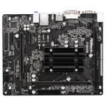 Placa de baza Asrock D1800M, Intel J1800 2,41GHz, 2xDDR3, 2xSATA2, mATX