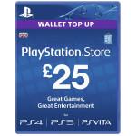 PlayStation Network Card UK 25 lire PS3 / PS4 / PS VITA
