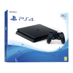 Consola SONY PlayStation 4 Slim (PS4 Slim) 500GB, negru
