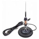 Antena CB Midland LC65 lungime 114cm, cu magnet inclus