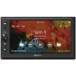 "Media receiver auto SONY XAV-AX100, 2DIN, 6.4"", 4x55W, Bluetooth, USB"