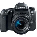Camera foto DSLR CANON EOS 77D, 24.2MP, Wi-Fi, negru + Obiectiv EF-S 18-135 f/3.5-5.6 IS
