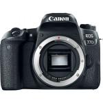 Camera foto DSLR CANON EOS 77D, 24.2MP, Body, Wi-Fi, negru