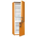 Combina frigorifica No Frost GORENJE RK6192EO, 319l , A++, oranj