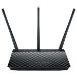 Router Wireless ASUS RT-AC53 AC750, 300 + 433 Mbps, Gigabit, negru