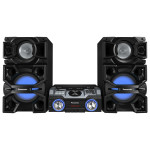 Sistem audio PANASONIC SC-MAX4000EK, 2400W, USB, Bluetooth, Iluminare LED