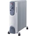 Radiator cu ulei SERRENO SER-YLA0613, 13 elementi, 3 trepte de putere, 1000/1500/2500W