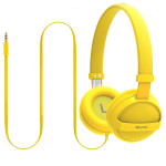 Casti on-ear PROMATE Sonic, Yellow