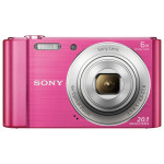 Camera foto digitala SONY DSC-W810, 20.1 Mp, 6x, roz
