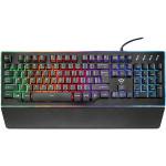 Tastatura gaming semi-mecanica TRUST Thura GXT 860 RGB, negru