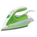 Fier de calcat BRAUN TexStyle 3 TS330C, Ceramica, 110g/min, 2000W, alb-verde