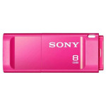 Memorie portabila SONY X-Series USM8GXP, 8GB, USB 3.0, roz