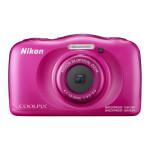 Camera foto digitala NIKON Coolpix W100, 13.2Mp, 3x, 2.7 inch, Pink
