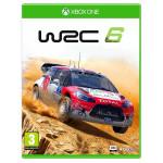 WRC 6 FIA World Rally Championship Xbox One