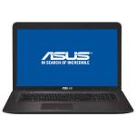 """Laptop ASUS X756UQ-TY125D, Intel® Core™ i7-7500U pana la 3.5GHz, 17.3"""" HD+, 8GB, HDD 1TB + SSD 128GB, NVIDIA® GeForce® 940MX 2GB, Free Dos"""