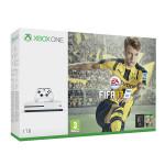 Consola MICROSOFT Xbox One Slim 1 TB, alb  +  Joc FIFA 17 (cod download)