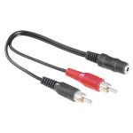 Adaptor RCA - Jack HAMA 43254