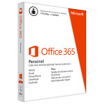 Microsoft Office 365 Personal, 32-bit/x64, English Subscriptie, 1 An