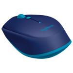 Mouse laser cu Bluetooth LOGITECH M535, 1000 dpi, albastru