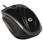 Mouse optic HP BR376AA, cu fir, USB, 1200dpi, negru