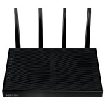 Router Wireless NETGEAR Gigabit Nighthawk X8 R8500 AC5300, Tri-Band 1000 + 2166 + 2166 Mbps, USB 3.0, USB 2.0, negru