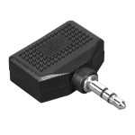 Adaptor audio HAMA 43353, 3.5 mm jack plug - 2x 3.5 mm jack