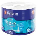 CD-R VERBATIM 43787, 52x, 700MB, 50buc - Shrink