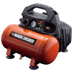 Compresor BLACK & DECKER BD 55/6, fara ulei, 6 litri, 1.5 CP, 8 Bar