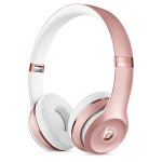 Casti on-ear cu microfon Bluetooth BEATS Solo3 Wireless, rose gold