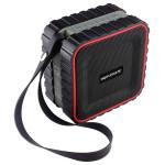 Boxa portabila PROMATE AquaBox, 3W, Bluetooth, rosu