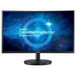 """Monitor LED VA SAMSUNG C27FG70FQU, 27"""" Curved, Full HD, negru"""