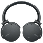 Casti on-ear Bluetooth SONY MDR-XB950N1B, NFC, Wireless, Negru