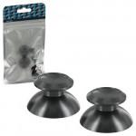 Protectie butoane PS4 - Zedlabz Alloy Metal Thumb Stick X2, black