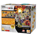 Consola NINTENTO New 3DS, negru + DragonBall Z: Coverplate + DragonBall Z: Extreme Butoden + SNES DragonBall Z: Super Butodeb 2