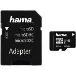 Card de memorie microSDXC 32GB Clasa 10 UHS-I + adaptor, HAMA 124139