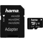 Card de memorie microSDXC 64GB Clasa 10 UHS-I + adaptor, HAMA 124140
